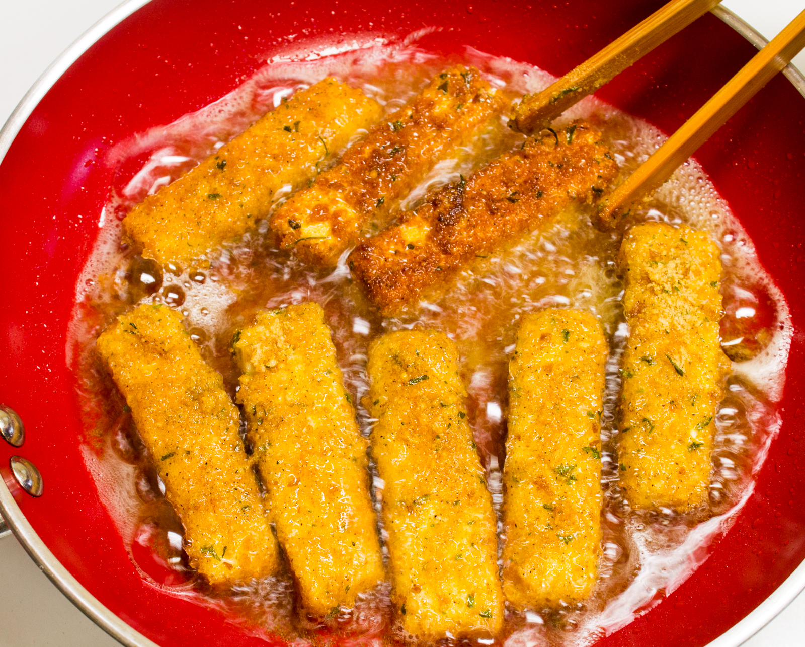 Tofu Fish Sticks - Fried or Baked » The Joy of an Empty Pot