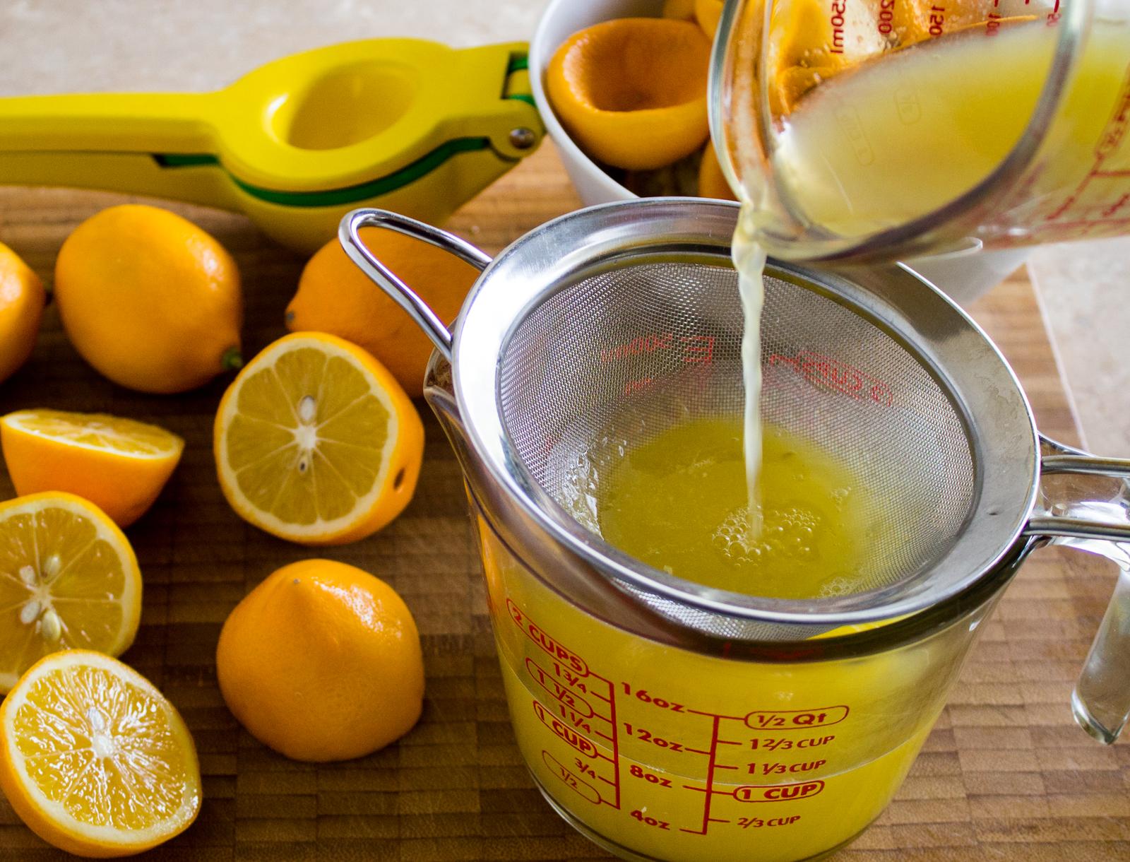 Meyer Lemon Syrup for Lemonade » The Joy of an Empty Pot